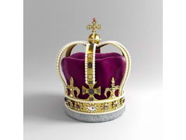 Saint Edwards Crown 3d model