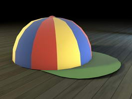 Rainbow Cap 3d model