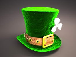 St. Patricks Day Hat 3d model