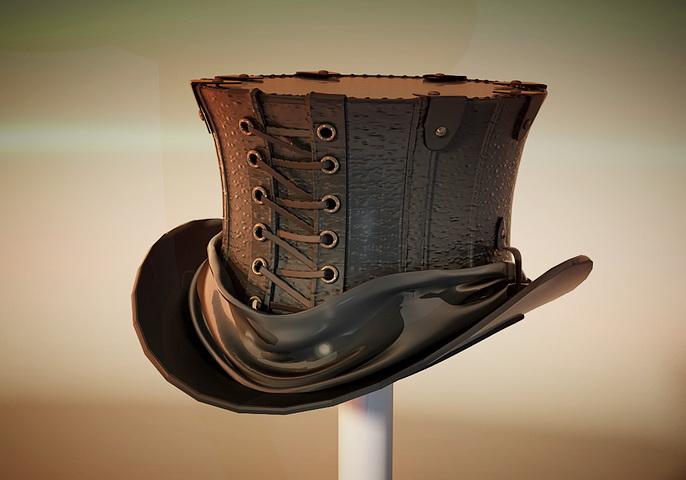 Steampunk Top Hat 3d Model 3d Studio Object Files Free