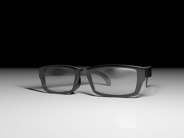 Fashion Reading Glasses 3d rendering