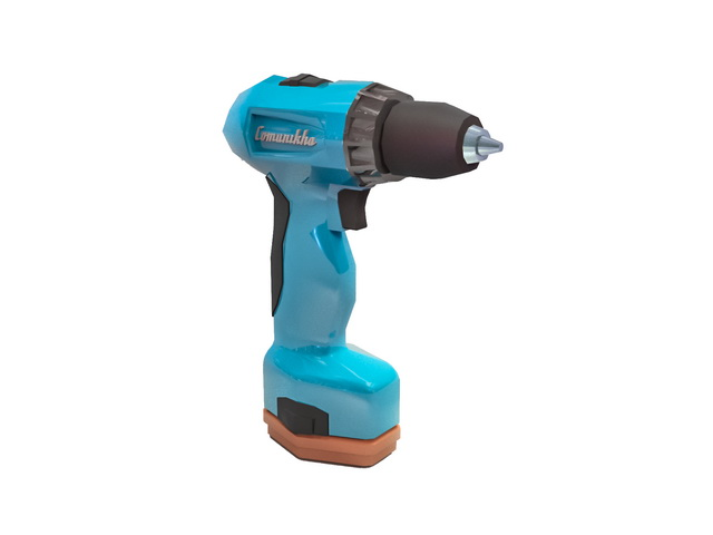 Cordless Drill Driver 3d model Object files free download