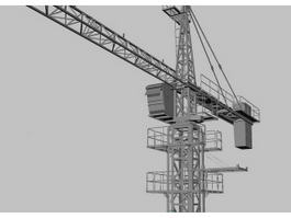 Tower Crane 3d preview