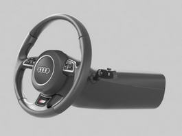 Car Steering Wheel 3d model