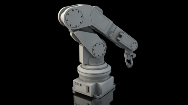 Robotic Arm 3d Model Cinema 4d Object Files Free Download
