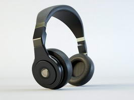 Wireless Headset 3d model