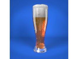 Weizen Beer 3d model