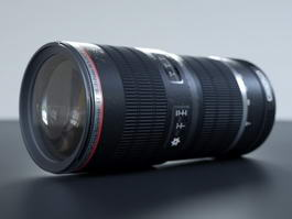 Canon Lenses 3d model