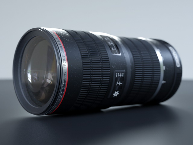 Canon Lenses 3d Model Cinema 4d Files Free Download