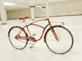 Retro Bike 3d model