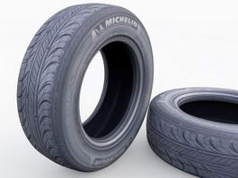 Michelin Tires 3d model