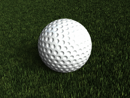 Golf Ball 3d preview