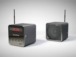 Bluetooth Sound Cubes 3d model