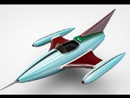 Toy Fighter Jet 3d model