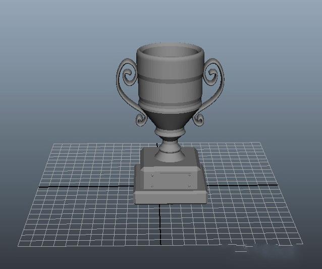 Award Cup Trophy 3d Model Cinema 4d Maya Object Files Free