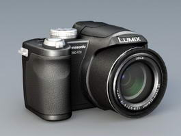 Panasonic FZ8 Digital Camera 3d model