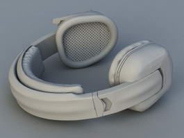 Wireless Headphones 3d model