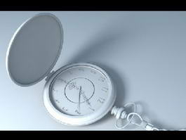 Old Pocket Watch 3d model