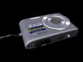 Casio Exilim Digital Camera 3d model