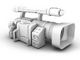 Canon HDV Camcorder 3d model