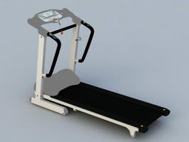 Exercise Treadmill 3d model