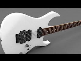 Ibanez Electric Guitar 3d model