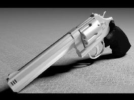 Magnum Gun 3d model