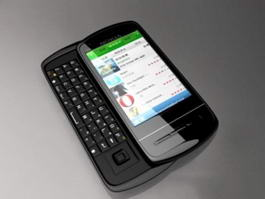 Nokia C6 3d model