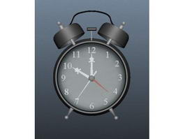 Old Alarm Clock 3d model