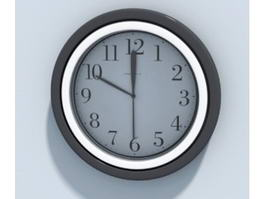 Office Wall Clock 3d model