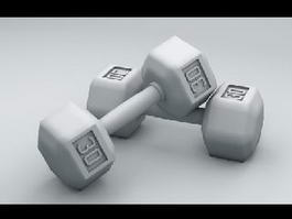 Dumbbell Sets 3d model