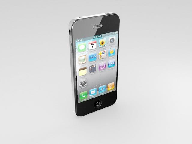 Apple iphone 3d model