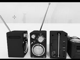 JC Radio 3d model