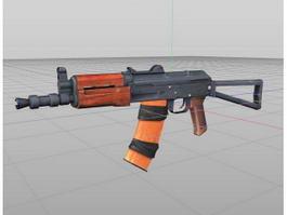 AKS-74U Automatic Carbine 3d model