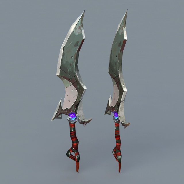 Magic Dagger 3d model