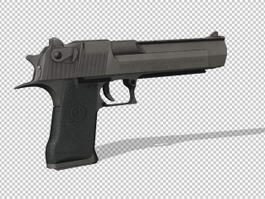 Desert Eagle Deagle Pistol 3d model