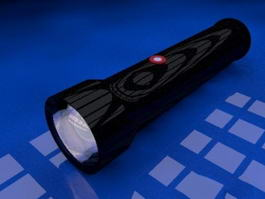 LED Flashlight 3d preview