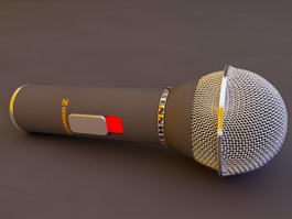Sennheiser Microphone 3d model