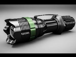 Tactical Flashlight 3d preview