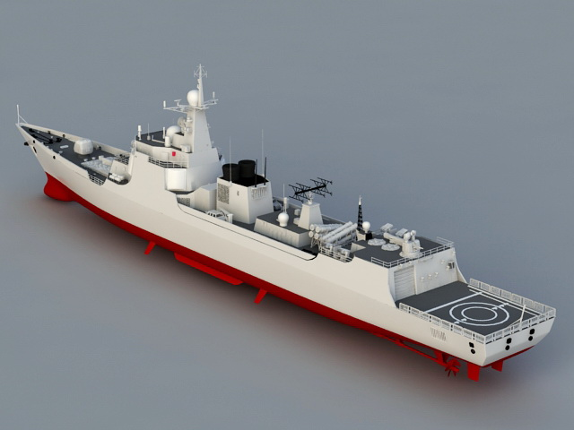 navy frigate ship 3d model 3ds max files free download
