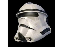 Star Wars Stormtrooper Helmet 3d model
