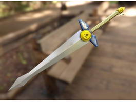 Biggoron Sword Ocarina of Time 3d model