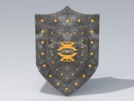 Vintage Shield 3d model