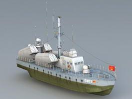 Bladesong Missile Boat 3d model