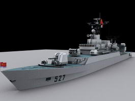 Chinese Navy Frigate 3d model
