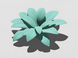 Green Plant 3d preview