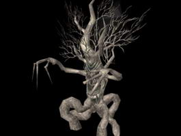Withered Tree Treant 3d model