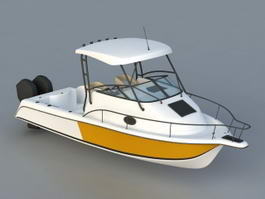 Speed Yacht 3d model