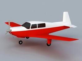 Mooney M20 3d model
