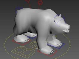 Bear Rig 3d model